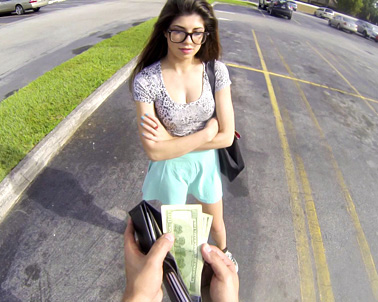 Ava Taylor in Curious little latina cutie! - Teens Love Money