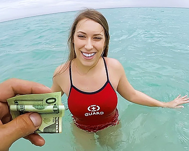 Kimber Lee in I don't make much money here... - Teens Love Money